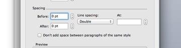Tweak paragraph text spacing in Microsoft Word