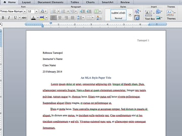 Add filler text in Microsoft Word