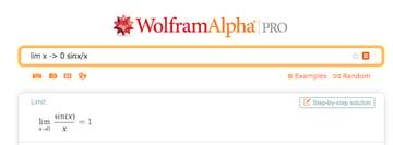 WolframAlpha can solve any math problem