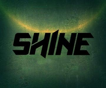 Type the word Shine