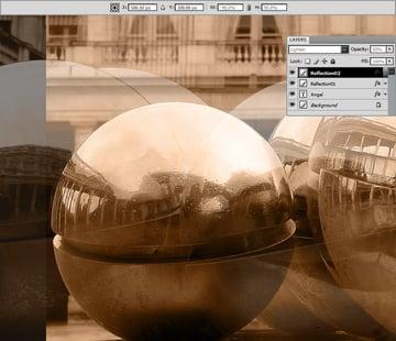 Duplicate layer image