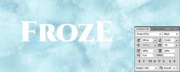 Type the word FrozE