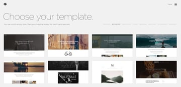 Square Space templates