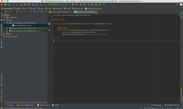 Android Studio User Interface