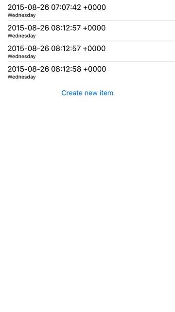 Extra iOS items