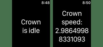 Digital Crown Status