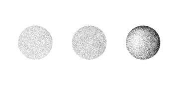 Dotwork smaller dots bigger dots and combination