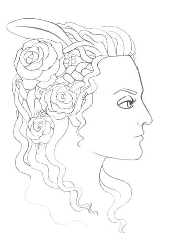 Drawing more hair