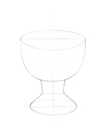 Drawing the bowl