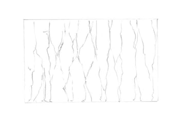 Drawing the main contours of the pattern