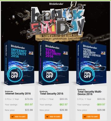 Bitdefender Black Friday discount offer