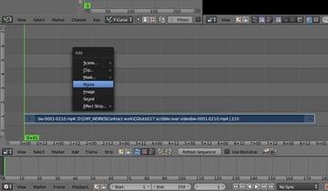 Adding the video