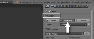 Rendering animation