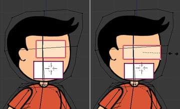 Duplicating the plane for eyes