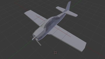 Airplane model is ready