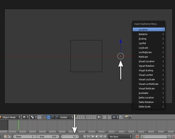 Animate the logo coming from outside to inside the cube