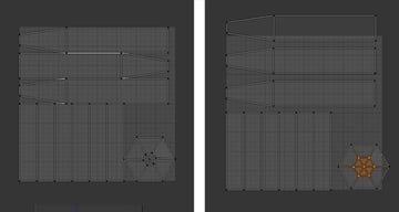 Move and tweak the UV map