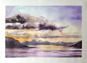A sketch from Morar beach
