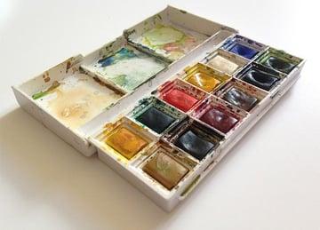 Watercolour paintbox