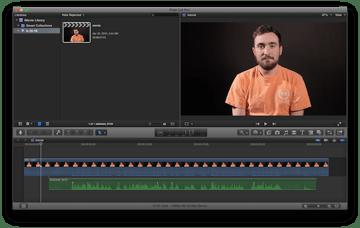 iMovie movie in Final Cut Pro