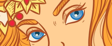 eyes lines color