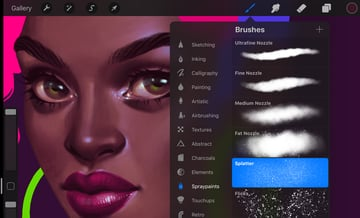 How to Paint a Portrait in Procreate Tutorial new texture brush