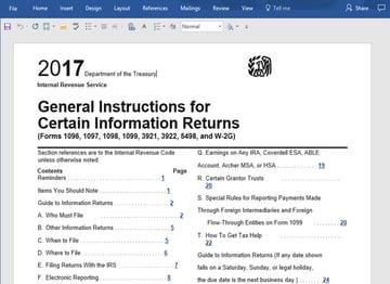 Word PDF Import