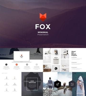 Fox Best Google Slides Template