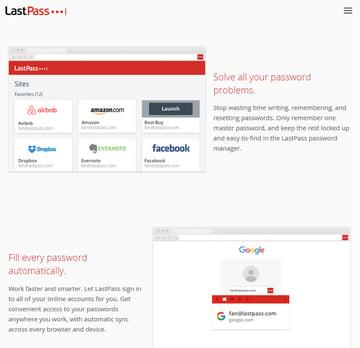 LastPass Password Saving Productivity App