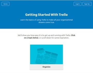 Trello Task Productivity App