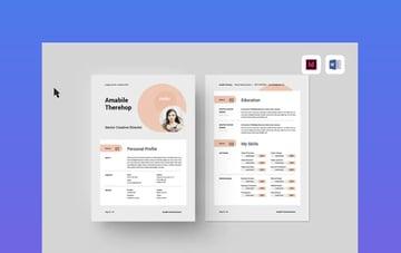 CV Format in MS Word Download