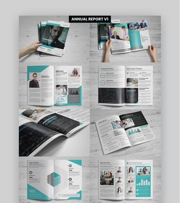 4 Annual Reports in One Bundle