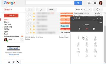 Gmail phone call