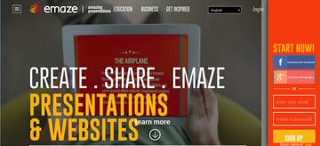 Professional Presentation Software - emaze