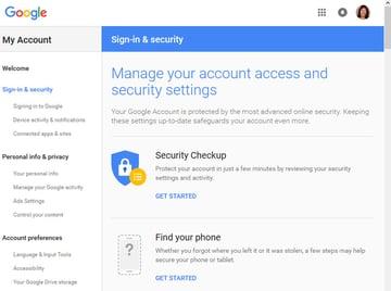 Gmail tutorials--Gmail security