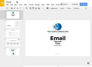 Select Your Google Slides Presentation