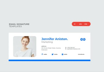 Professional Email Signature Template