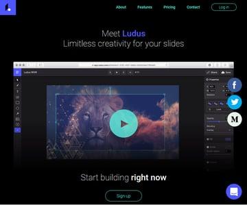 Ludus online presentation software