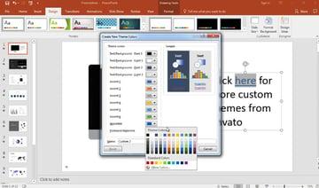 Change hyperlink and followed hyperlink colors