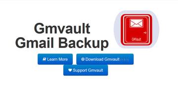 Gmvault Gmail Backup utility