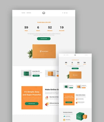 Megapack Multipurpose HTML Landing Page Template