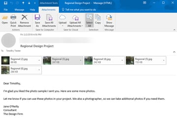 Images have been resized in Outlook