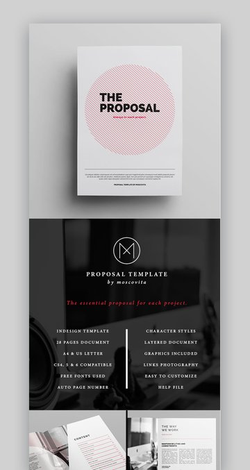 Project Proposal Template Eye-Catching
