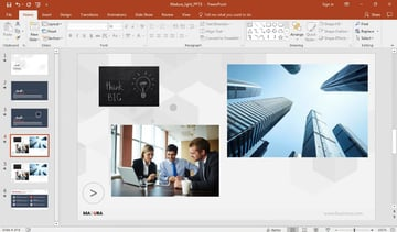 Resize picture in PowerPoint