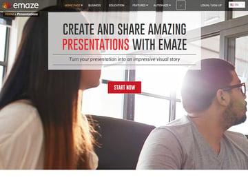 Emaze presentations