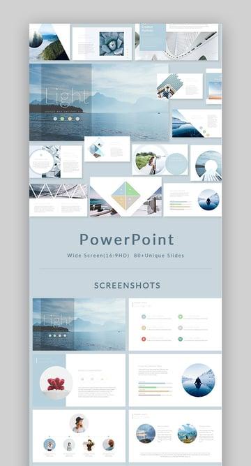 Light PowerPoint Presentation