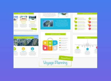 Voyage Colorful PowerPoint Template
