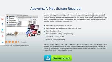 Apowersoft Mac Screen Recorder