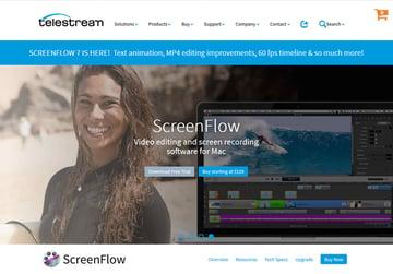 ScreenFlow screen recorder for Macs