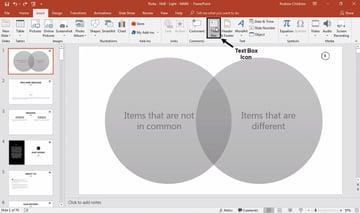 Label PowerPoint Venn Diagram